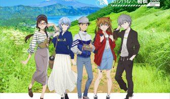 'Evangelion' temalı etkinlikler Hakone'de