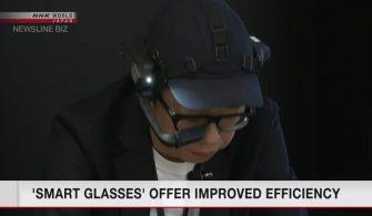"""""""Akıllı Gözlükler"""" geliştirilmiş verimlilik sunuyor"""