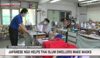 Japonya'daki sivil toplum kuruluşları Taylandlı gecekondu sakinlerine yardım ediyor