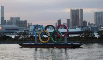 Japonya'da Tokyo Olimpiyatları'na katılacak sporculara Kovid-19 aşısı yapılmaya başlandı