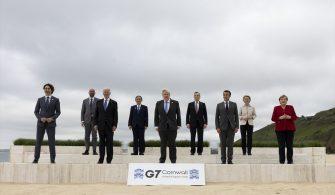 ABD Başkanı Biden, G7 Liderler Zirvesi'nde Japonya Başbakanı Suga ile görüştü