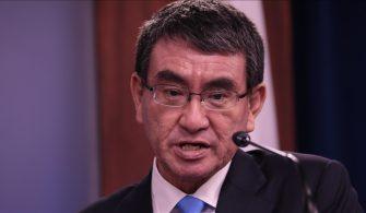 """Japonya'da ankete göre Başbakan Suga'nın """"en popüler halefi"""" Reform Bakanı Kono"""